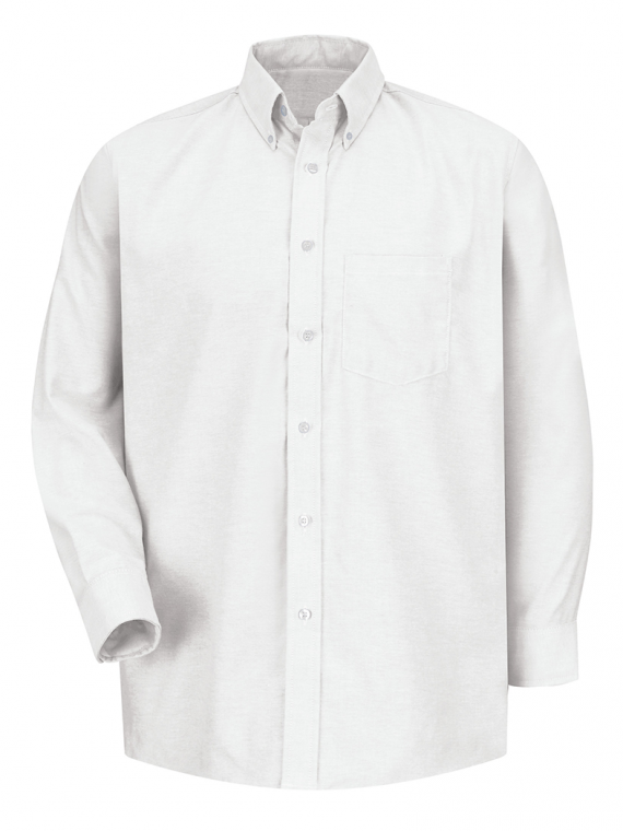 Camisa-Oxford-Ejecutiva-de-Manga Larga-(Blanco) copy
